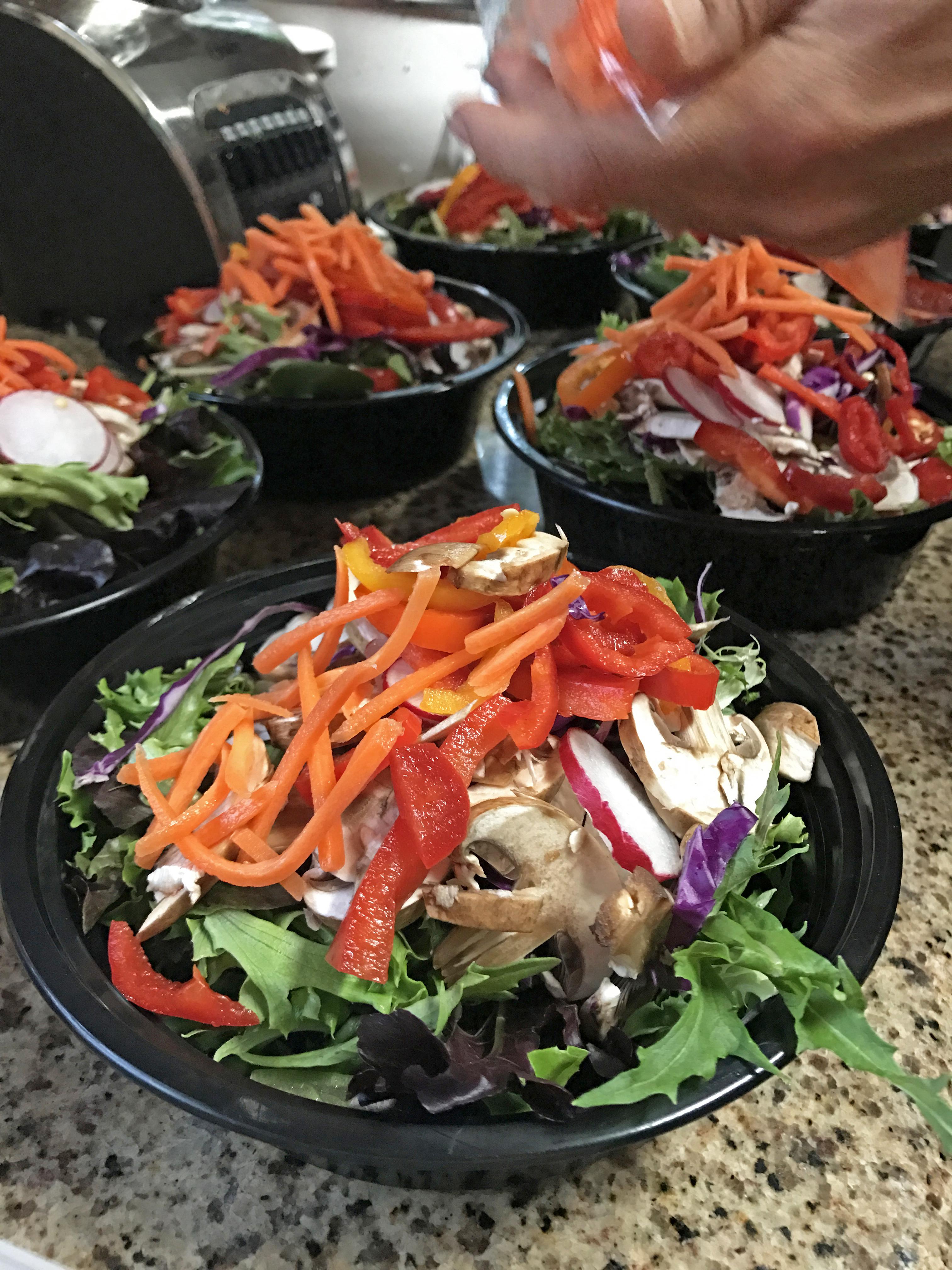 salad meal prep